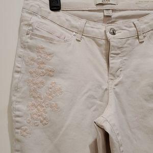 Vintage America Boho Skinny Ankle Jeans. Sz. 8